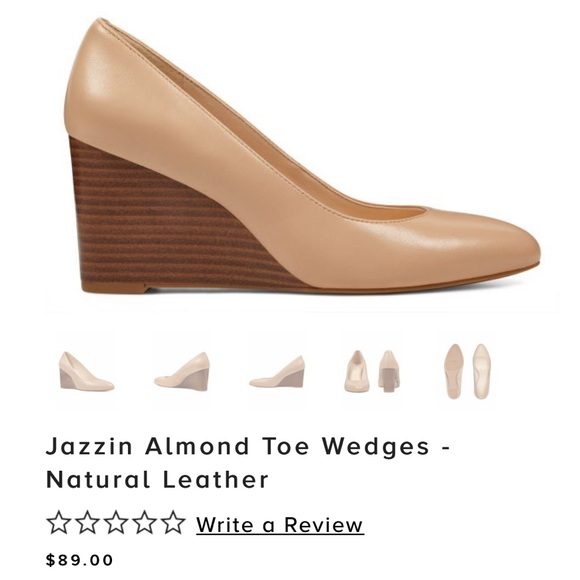 d3323e6aaf4 Nine West Jazzin Nude Wedges (New Condition)